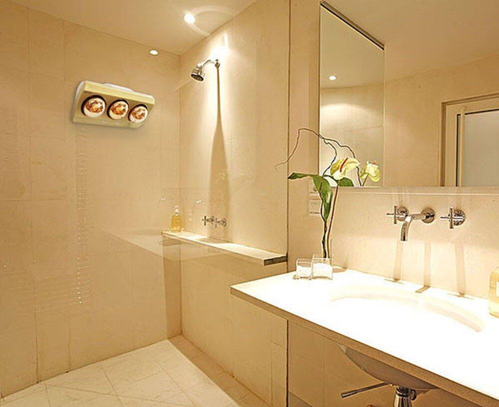 Chọn đèn sưởi nhà tắm đúng cách sẽ đem lại hiệu quả đáng kể