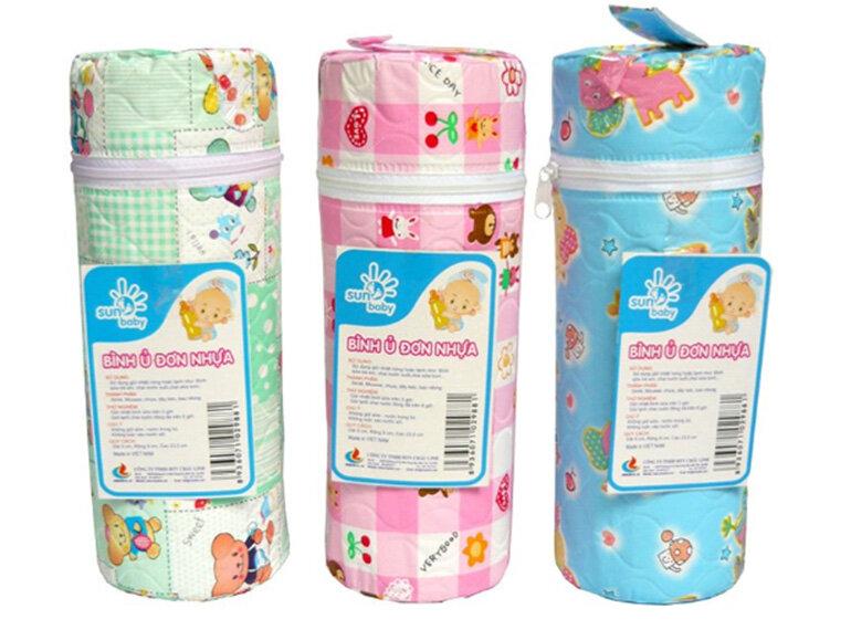 Túi giữ nhiệt bình sữa Sun Baby (Nguồn: adayroi.com)