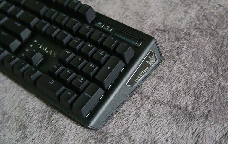 bàn phím cơ galax hof gaming keyboard