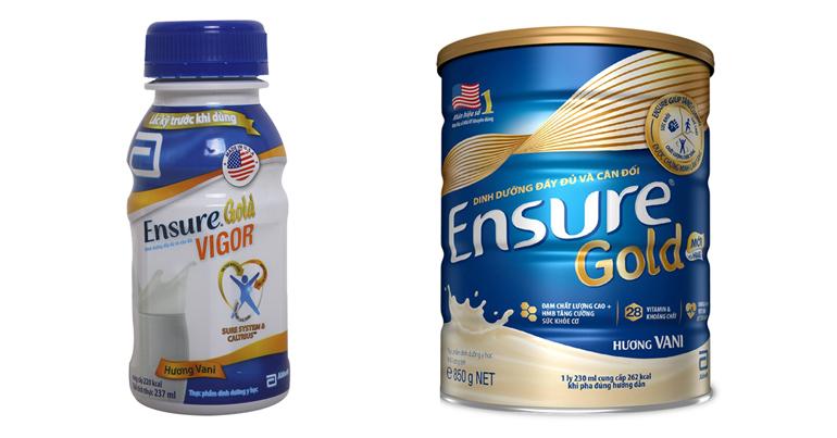 Sữa Ensure dạng bột và dạng nước có khác nhau gì không ?