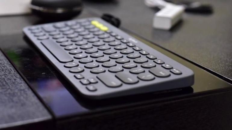 bàn phím bluetooth logitech k380