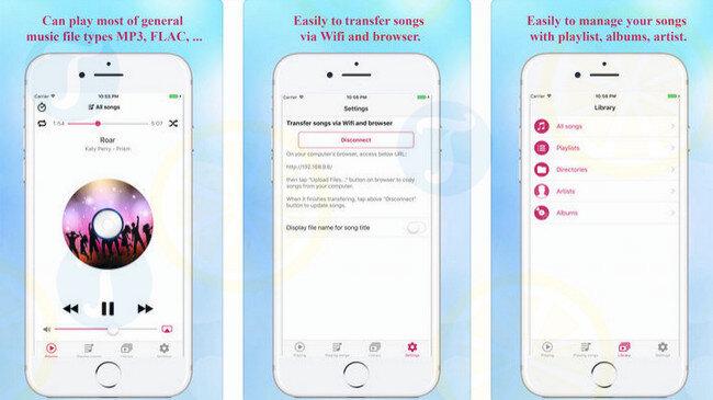 Ứng dụng Muzik box cho phép tải nhạc trực tuyến trên iPhone