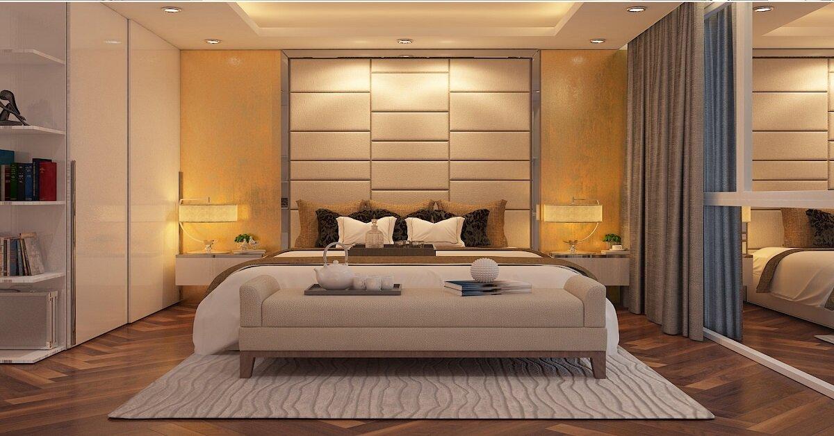 nội thất phòng ngủ đẹp ấm cúng