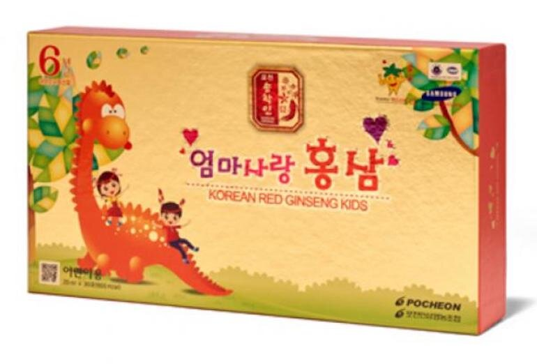 Hồng sâm trẻ em Pocheon nhập khẩu