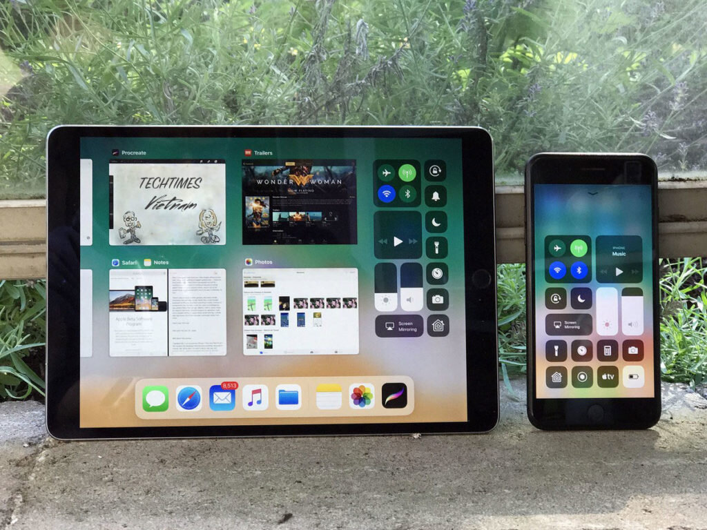 Thay đổi phiên bản iOS tương thích với iPad