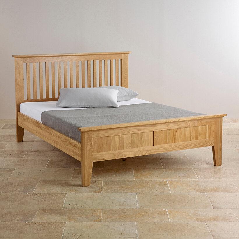 Giường đơn Camber gỗ sồi Cozino 1.2m