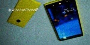 Ảnh thực tế được cho là của Lumia 1520V