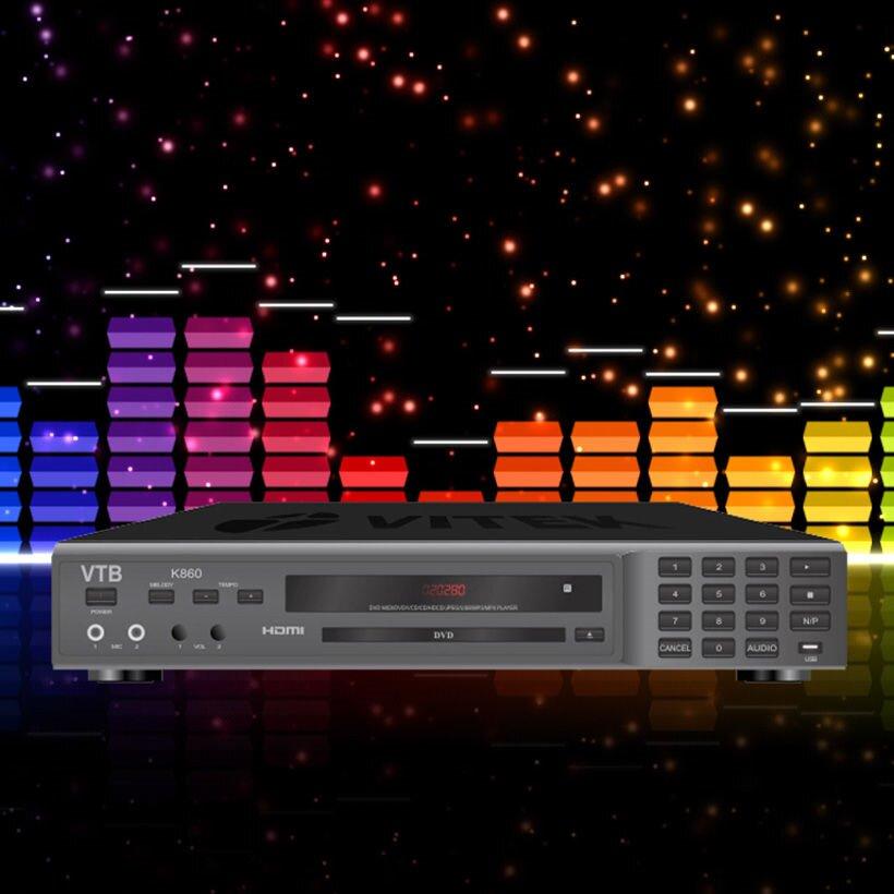 Đầu karaoke VTB K860 rất được yêu thích trên thị trường