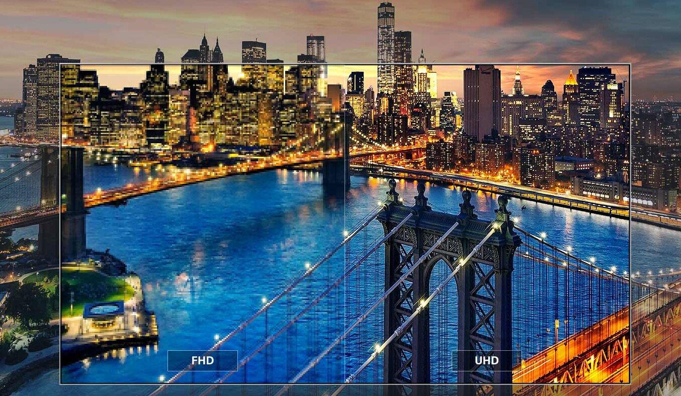 LG UHD 4K 43UK6540 mãn nhãn với hình ảnh quá sắc nét