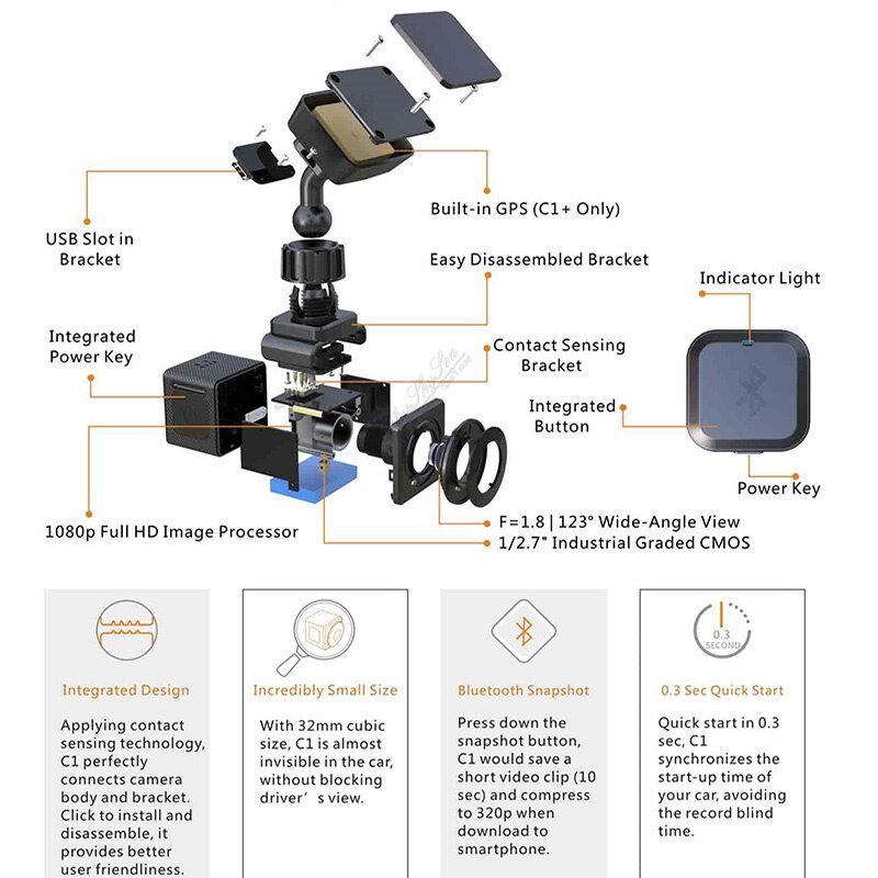 Camera camera hành trình nhỏ gọn xplore C1