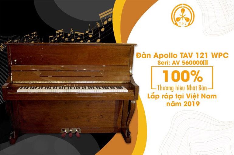 Piano Apollo TAV121WPC