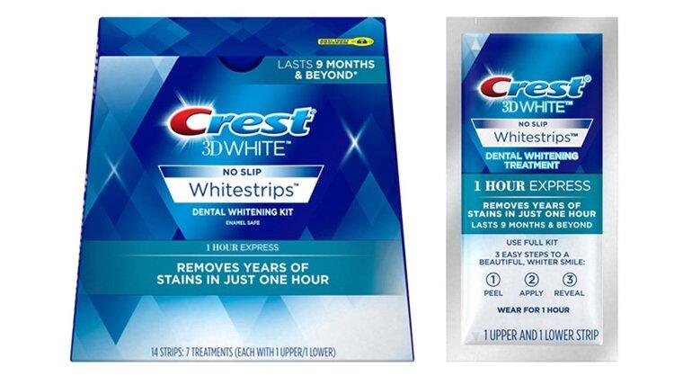 miếng dán trắng răng crest 3d white