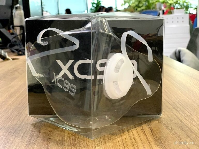 khẩu trang nhựa trong suốt XC99
