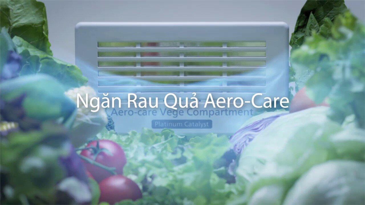 Ngăn chứa rau quả Aero-care công nghệ tiên tiến