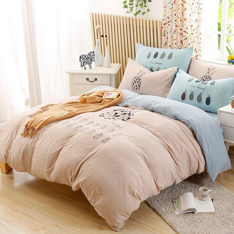 Bộ chăn ga gối đệm giúp căn phòng của bạn trở nên tinh tế và mang đến giấc ngủ ngon để cải thiện tinh thần tốt hơn
