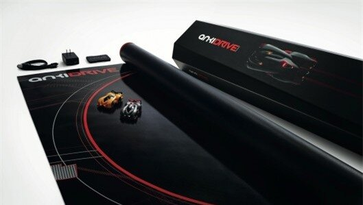 Anki Drive self-driving race cars evolve unique personalities the more they are played wit...
