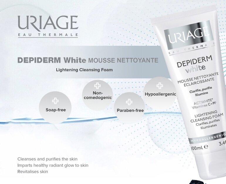 Sữa rửa mặt Uriage Depiderm White