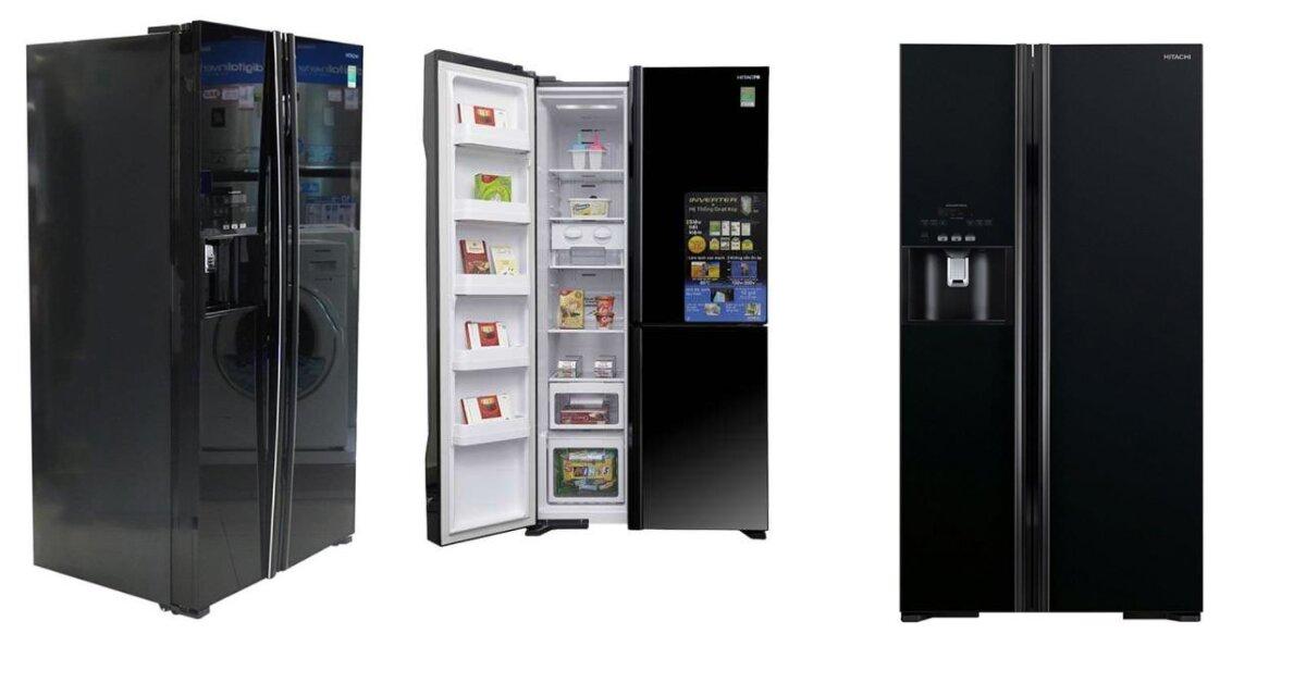 Review chi tiết tủ lạnh SBS Hitachi Inverver 589L R-FS800GPGV2 (GBK)