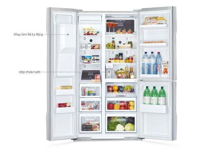 Chức năng tự động làm đá trên tủ lạnh Samsung hoạt động ra sao ?