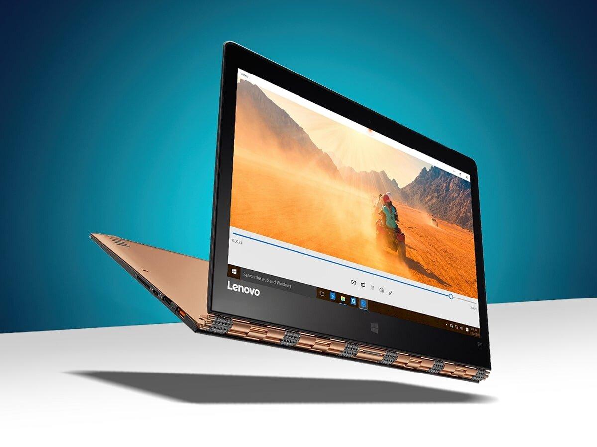 Lenovo Yoga 900S là một trong những laptop mỏng nhất thế giới