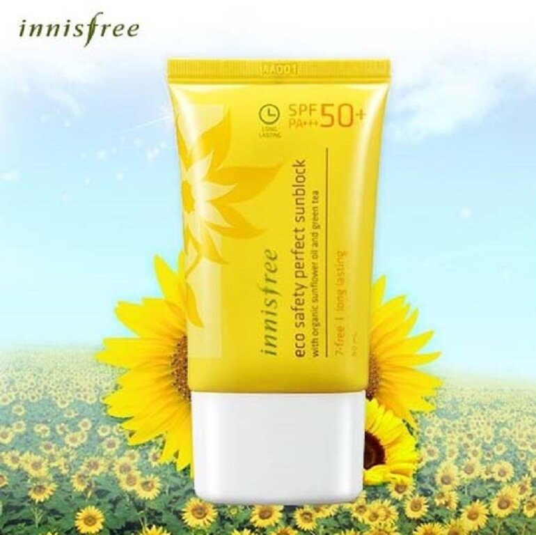 Kem chống nắng Innisfree Eco Safety Perfect Waterproof Sunblock
