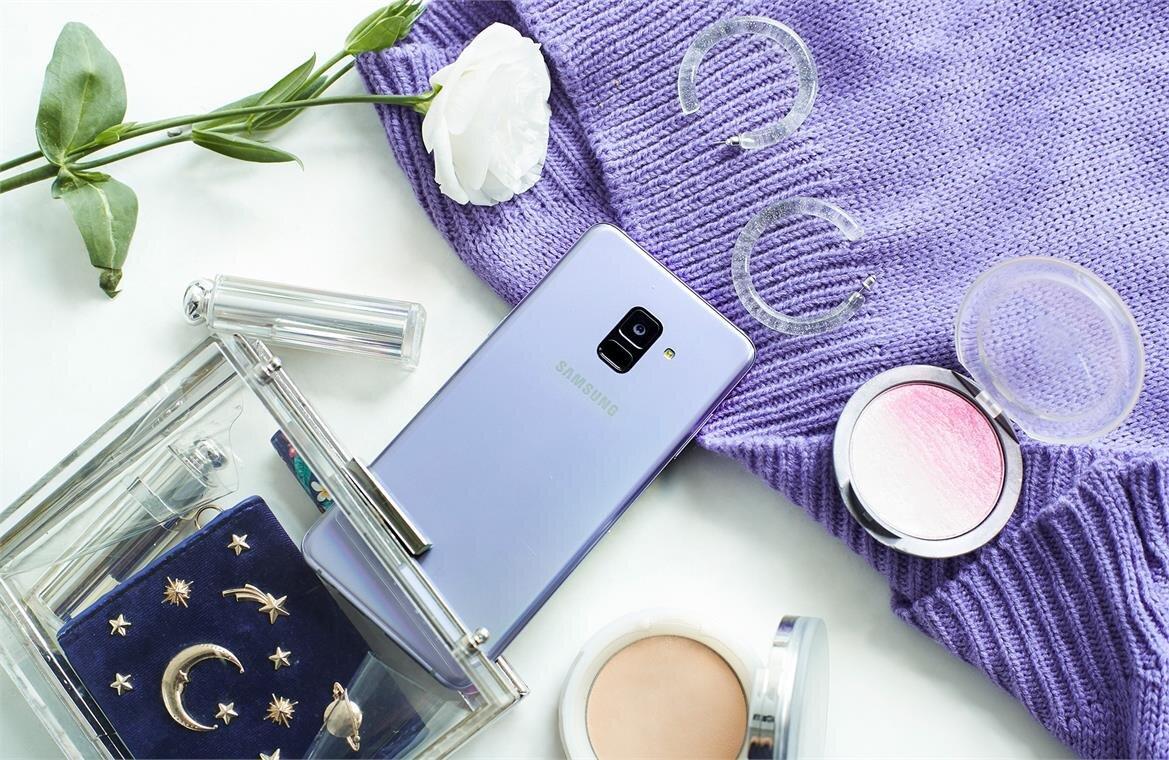 Điện thoại Samsung A8 Plus 2018