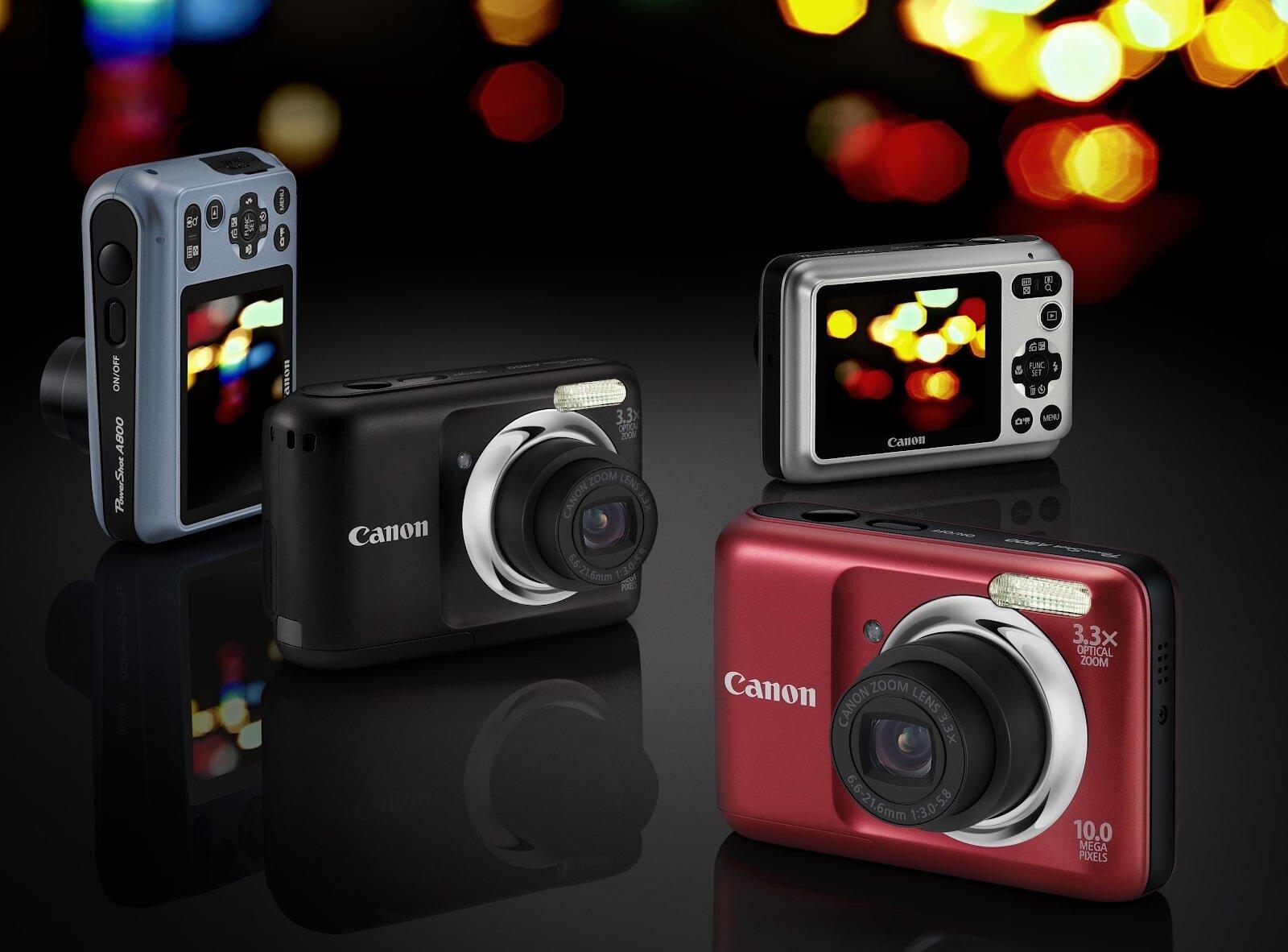 Chiếc máy ảnh du lịch Canon thiết kế gọn nhẹ
