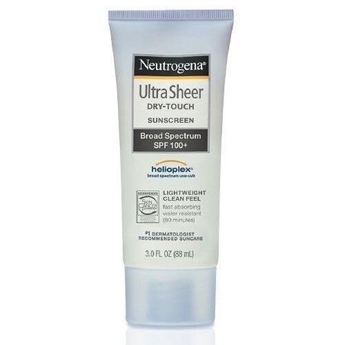 Neutrogena Ultra Sheer Dry-Touch SPF 100+