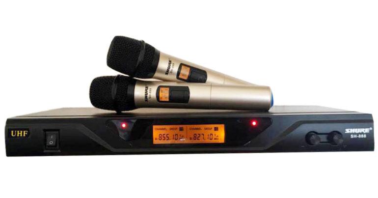Micro không dây Shure SH 888