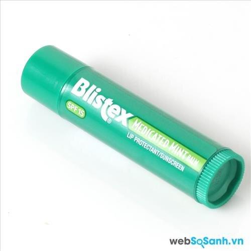 Son dưỡng môi Blistex Medicated Mint Lip Balm