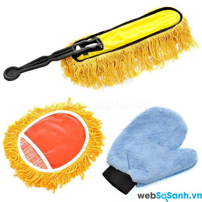Những dụng cụ cần thiết khi rửa xe