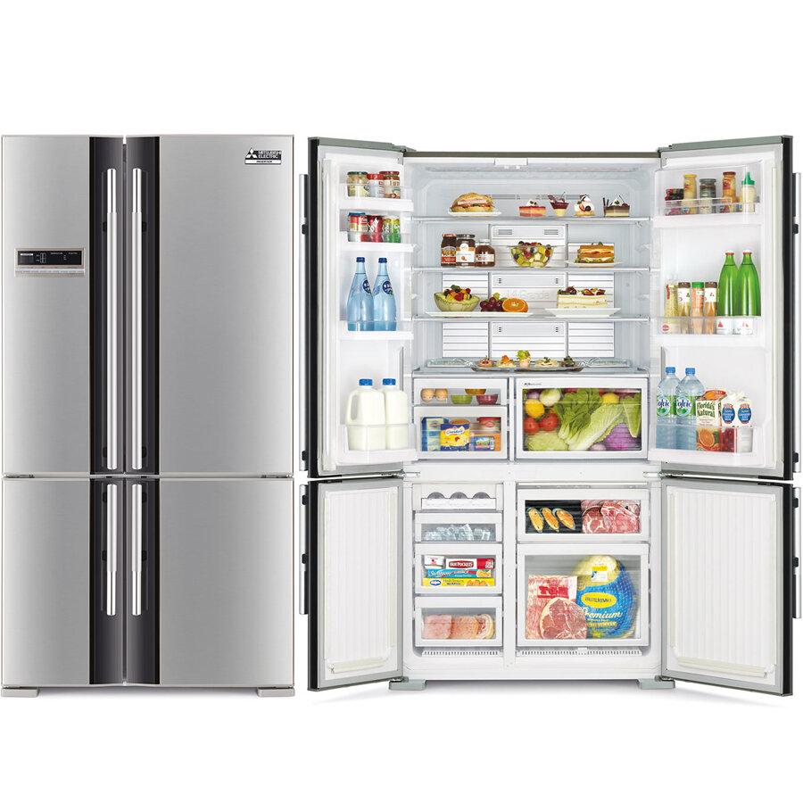 Tủ lạnh 4 cánh Mitsubishi MR-LX68EM-GSL-V 564 lít