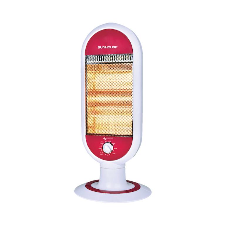 Đèn sưởi hồng ngoại Sunhouse an toàn cho trẻ nhỏ