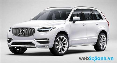 Mua xe ô tô nào an toàn nhất hiện nay: xe ô tô SUV Volvo XC90