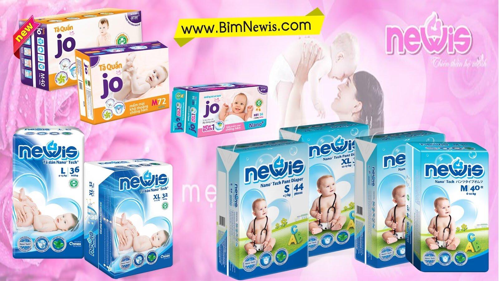 Tã Newis sản phẩm tuyệt vời cho bé