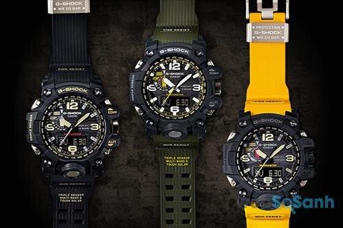 Đồng hồ Casio G-Shock với thiết kế hầm hố