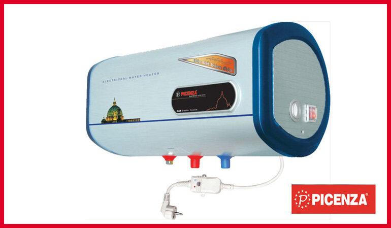 Bình nóng lạnh ngang Picenza 2 ngăn tiện lợi và tiết kiệm điện