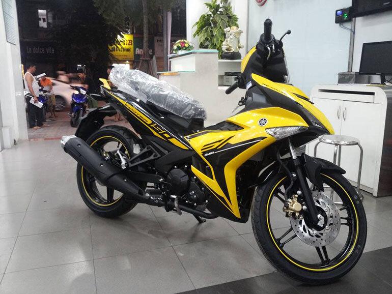 Xe Exciter 150 RC có nhiều màu để khách hàng lựa chọn