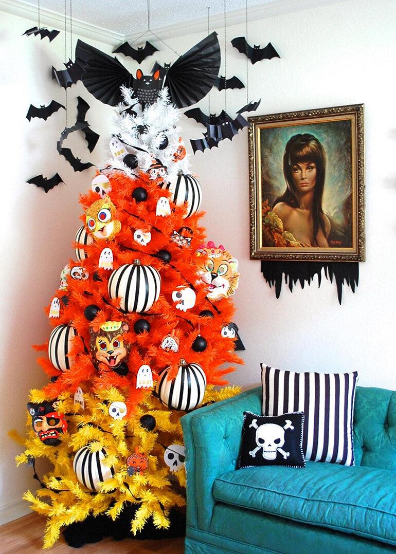 Sắm những vật trang trí ma mị giúp bạn có không gian tuyệt vời cho lễ Halloween (Nguồn: afamily.com)