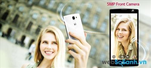 Điện thoại LG Magna hấp dẫn bởi camera trước có khả năng chụp ảnh nhờ cử chỉ