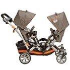 Xe đẩy trẻ em đôi Kolcraft Contours Options Tandem II Stroller