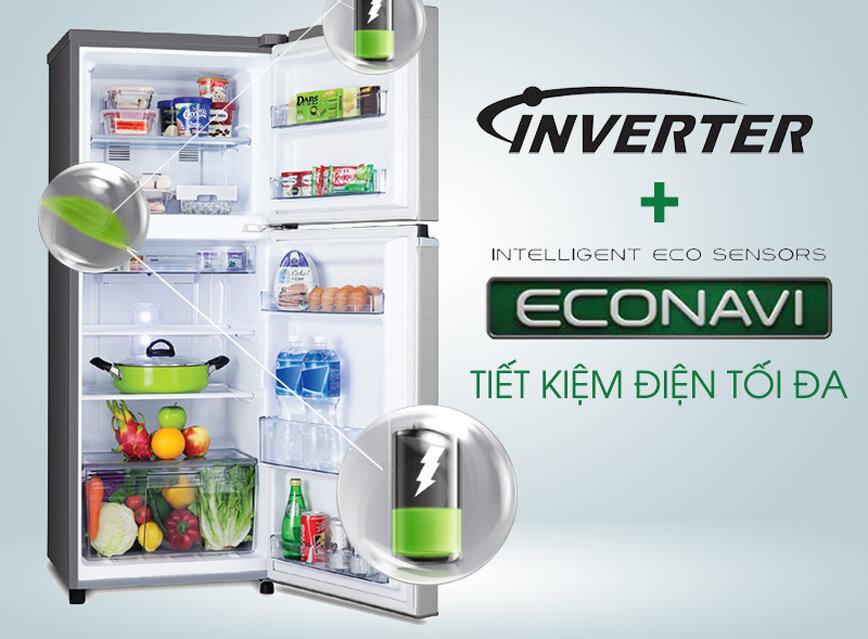 Cảm biến ánh sáng được sử dụng cho tủ lạnh