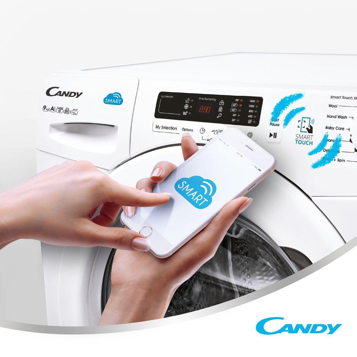 Máy giặt Candy có giá thành khá rẻ so với các hãng máy giặt khác