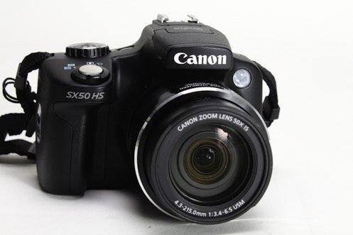 Máy ảnh siêu zoom Canon SX50HS.