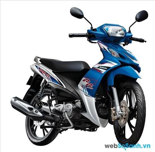 Suzuki Axelo 125 được đánh giá cao về thiết kế cơ động và đơn giản