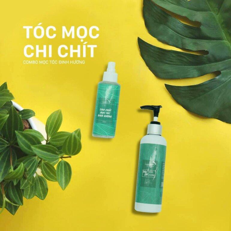 Thuốc xịt mọc tóc Đinh Hương Nhu