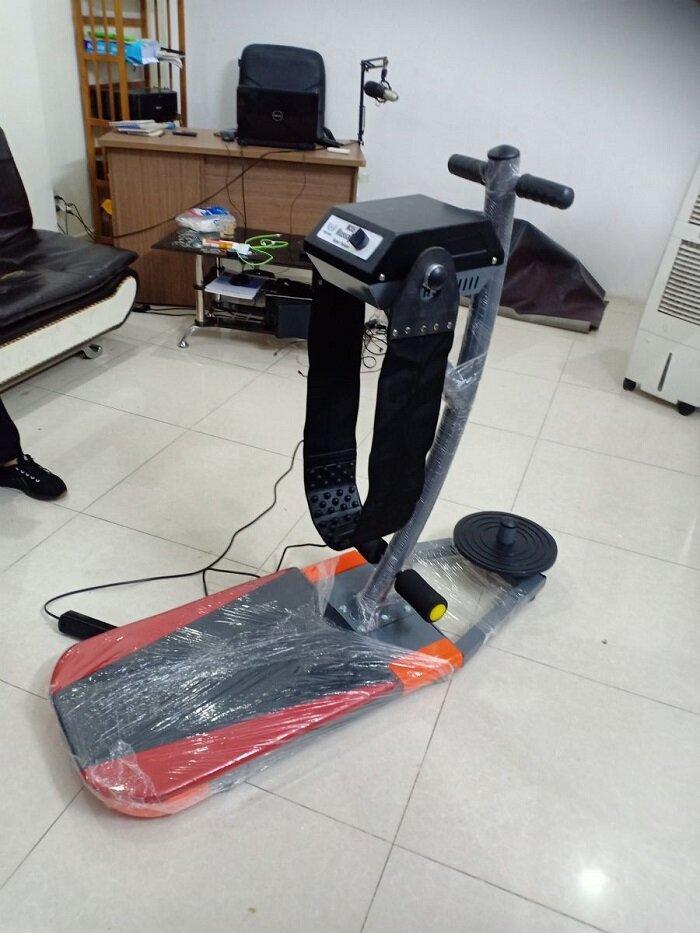 máy massage bụng đứng