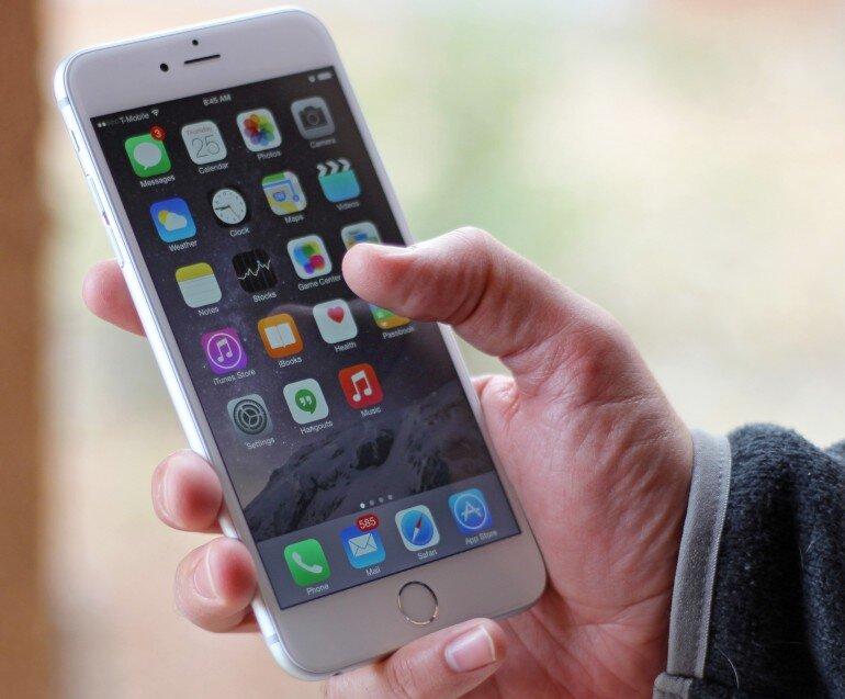 iPhone 6 tích hợp cảm biến vân tay