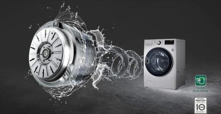 Máy giặt công nghiệp LG Inverter 19 kg F2719SVBVB - Giá tham khảo khoảng 23 triệu vnđ/ chiếc