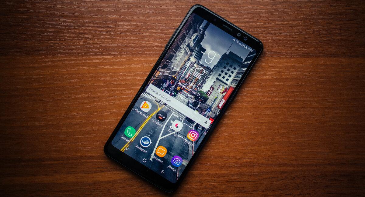 Samsung Galaxy A8+ 2018 có thiết kế màn hình tràn viền